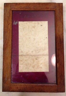 "Antique Eastman Kodak Photography Printing 7"" X 4 1/2"" Frame plate vintage"