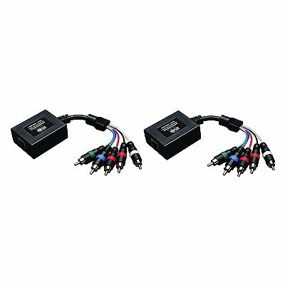 Tripp Lite B136-101 Component Video with Stereo Audio over Cat5 Extender Kit