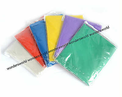 6 Festival PONCHO Disposable Plastic Raincoat Emergency Waterproof Rain Camping