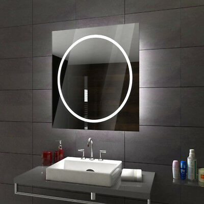 ATHEN Illuminated Led bathroom mirror  Custom Size Variants - To Measure