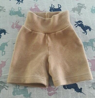 Small Wild Coconut wool shorts cloth diapering