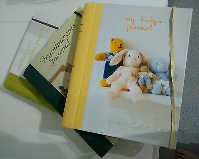 Rrp £45 baby's Journal First Year Diary  Record Book birth grandparent toddler