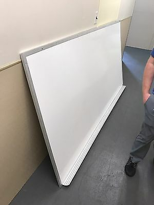 White Magnetic Dry Erase Board 8' X 4' Very Good Shape