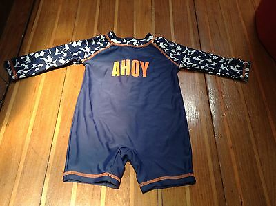 Bodysuit Swim Suit Swimwear UPF50 Size 00 3 to 6 Months Baby Boys Toddler