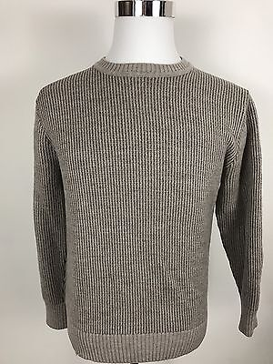 Patagonia 100% Merino Wool Gray Crewneck Pullover Sweater Men's Size Small S