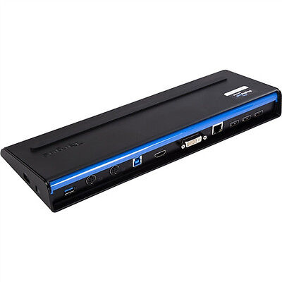 USB 3.0 SuperSpeed Dual Video Docking Station
