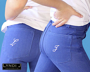 Lyndi-J Denim Hipster Horse And Equestrian