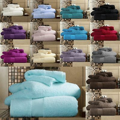 100% Egyptian Cotton Miami Luxury Towels Bath Sheets Super Soft Absorbent 650GSM