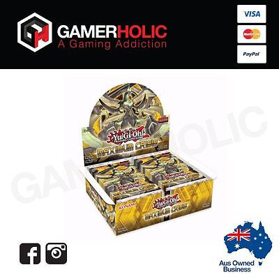Yugioh TCG Maximum Crisis Booster Box 24 Packs Sealed Booster Box IN STOCK