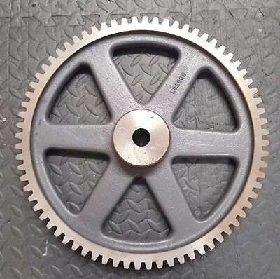 Boston Gear NL72B Spur Gear 14.5 Pressure Angle Cast Iron 4 Pitch 1.25 72 Teeth