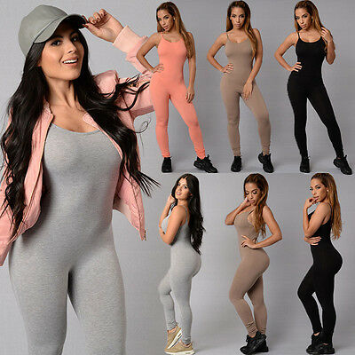 UK Stock Women Ladies Clubwear Playsuit Bodycon Party Jumpsuit&Romper Trousers