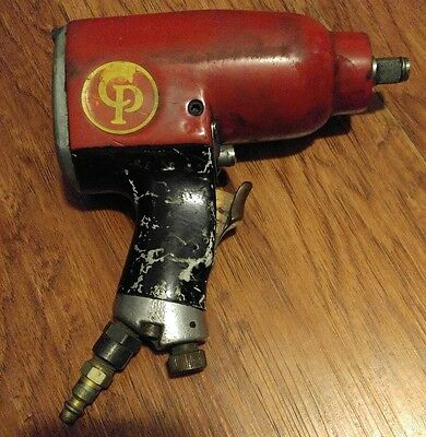 "Vintage Chicago Pneumatic CP-9540 Impact Air Wrench 1/2"" Drive. Red"