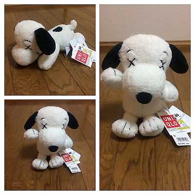 NEW Uniqlo KAWS plush stuffed toy stuff Snoopy Peanuts S size from Japan Free