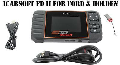 iCarsoft FD II For Ford / Holden OBD2 OBD II Diagnostic Scan Tool Service Reset
