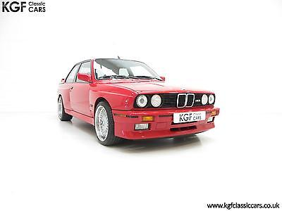 A Stunning Homologation BMW E30 M3 Motorsport with Just 28,634 Miles