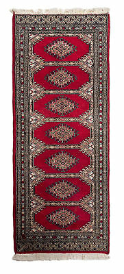 174x65 CM Tappeto Carpet Tapis Teppich Alfombra Rug Kashmir (Hand Made)