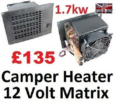 Motorhome, Camper and Boat Heater - Engine Powered - 12v  Easy Fit - SELF BUILD
