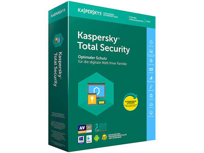 Kaspersky Total Security Multi Device 2018 3PC Gerät 1 Jahr Download Lizenzkey