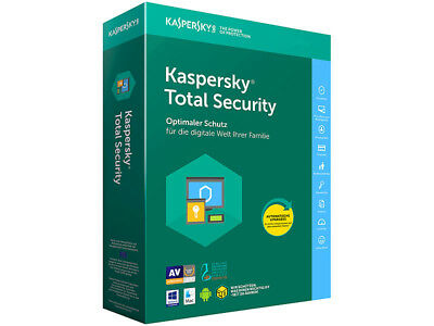 Kaspersky Total Security Multi Device 2018 5PC Gerät 1 Jahr Download Vollversion