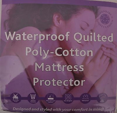 Classic Waterproof  Quilted  Mattress Protect For Home/Hotel [ King ]