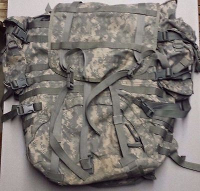 US ARMY MOLLE II ACU RUCK SACK FIELD PACK Sustainment Shoulder Belt Gen IV Frame