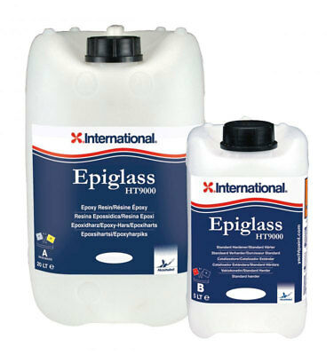 International Epiglass HT 9000 Epoxy Resin A+B Standard 3,75 Lt #458COL1115