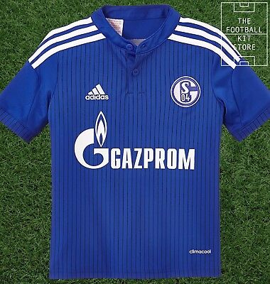 Schalke 04 Home Shirt - Official adidas Boys Football Jersey - All Sizes