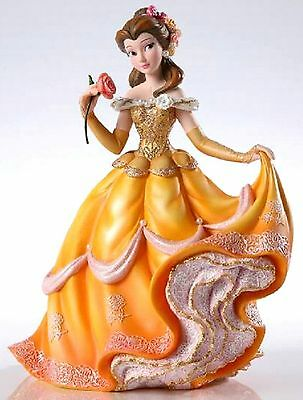 Enesco Disney Belle Couture de Force Figurine, signed, artist Cyndy Bohonovsky