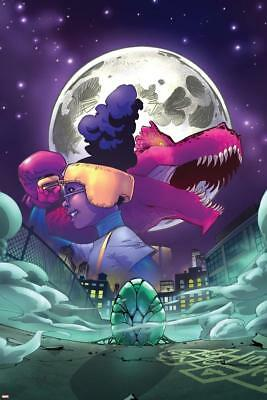 Moon Girl and Devil Dinosaur No. 7 Cover Art Poster by Reeder, Amy Wall Decor