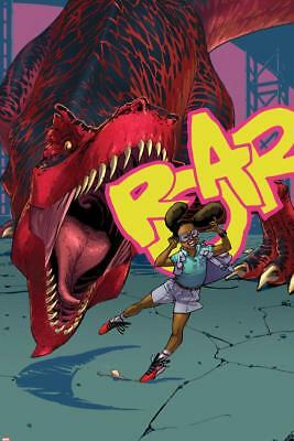 Moon Girl and Devil Dinosaur No.3 Cover Poster Wall Decor Home Bedroom