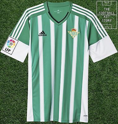 Real Betis Home Shirt - Official adidas Football Jersey - Mens - All Sizes
