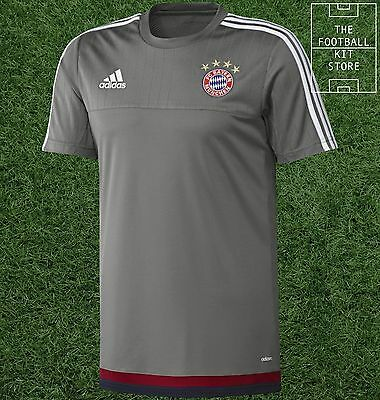 Bayern Munich Training Shirt - Official Adidas FC Bayern Football Training
