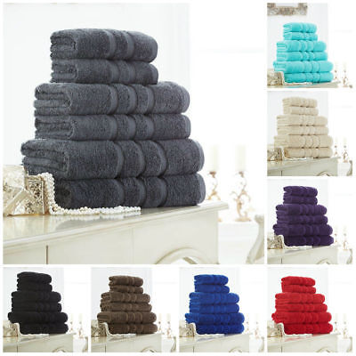 Zero Twist 100% Pure Egyptian Cotton Super Soft Hotel Quality Towels/Bath Sheets