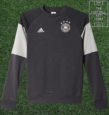 Germany Training Sweater - Official adidas Deutschland Sweat Top - Boys Sizes