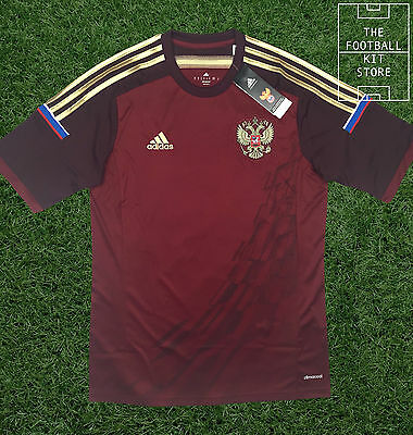 Russia Home Shirt - Official adidas Россия Football Jersey - Mens - All Sizes