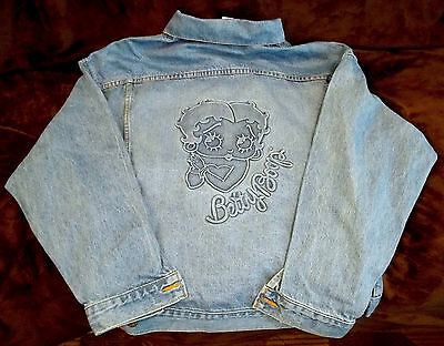 Betty Boop Jean Jacket Large