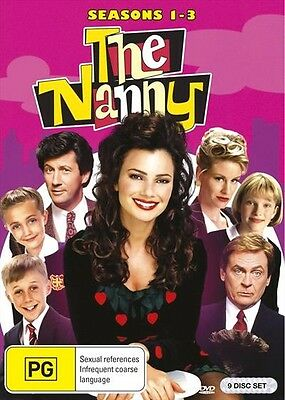 Nanny, The : Season 1-3 (DVD, 2017, 9-Disc Set) (Region 4) Aussie Release