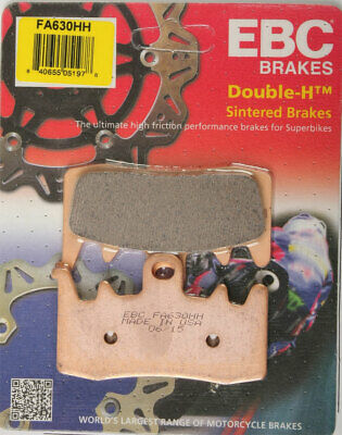 EBC Double-H HH Sintered Superbike Brake Pads / One Pair (FA630HH)