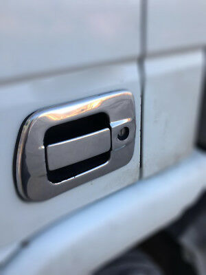 Iveco Stralis Truck Stainless Steel CHROME Door Handle  Cover SET(4PCS)