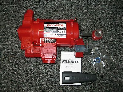 Fill-Rite 300 Series - 20 GPM Heavy Duty High Flow AC Fuel Pump (FR300VN)