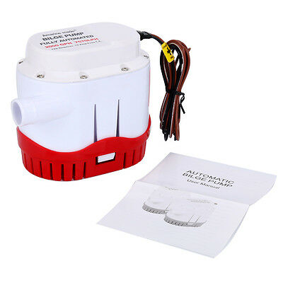 Automatic Submersible Boat Bilge Water Pump 12v 2000gph Built-in Float Switch