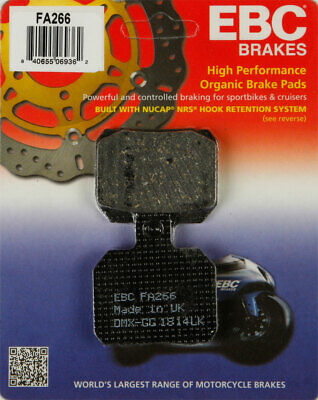 EBC Organic OE Quality Replacement Brake Pads / One Pair (FA266)