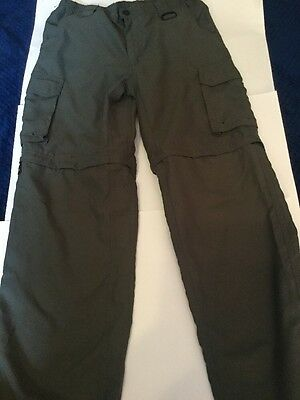 Boy Scouts of America green shorts Youth Large Green Switchback Pants Convertibl