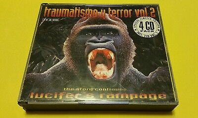 CD HARDCORE Traumatismo Y Terror Vol.2 - The Story Continues (4 x Cds)