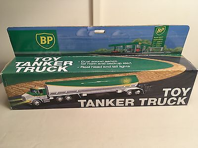 BP Toy Tanker Truck with Dual Sounds and Lights - NIB