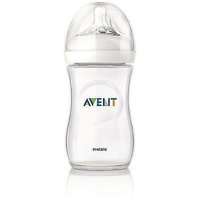 Philips Avent Natural Baby Bottle, 9 Ounce, 1 Pack New