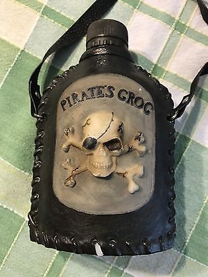 Pirate Grog Flask