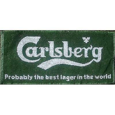 Carlsberg Lager Probably... Cotton Bar Towel (pp) New