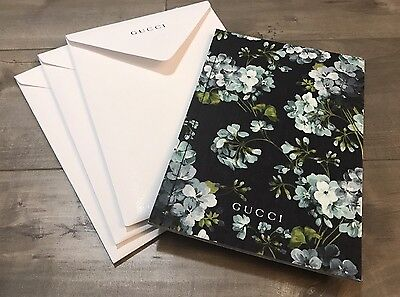 Gucci Floral Look Book *NEW With Gucci Envelope