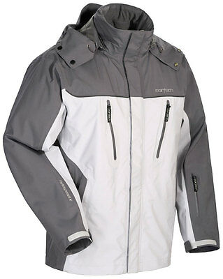 CORTECH Women's Brayker Snow Snowmobile Jacket (Silver/Gunmetal) M (Medium)